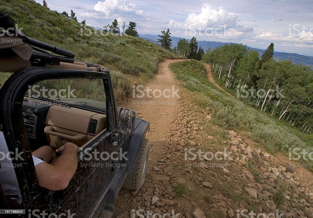 Trails stock photo