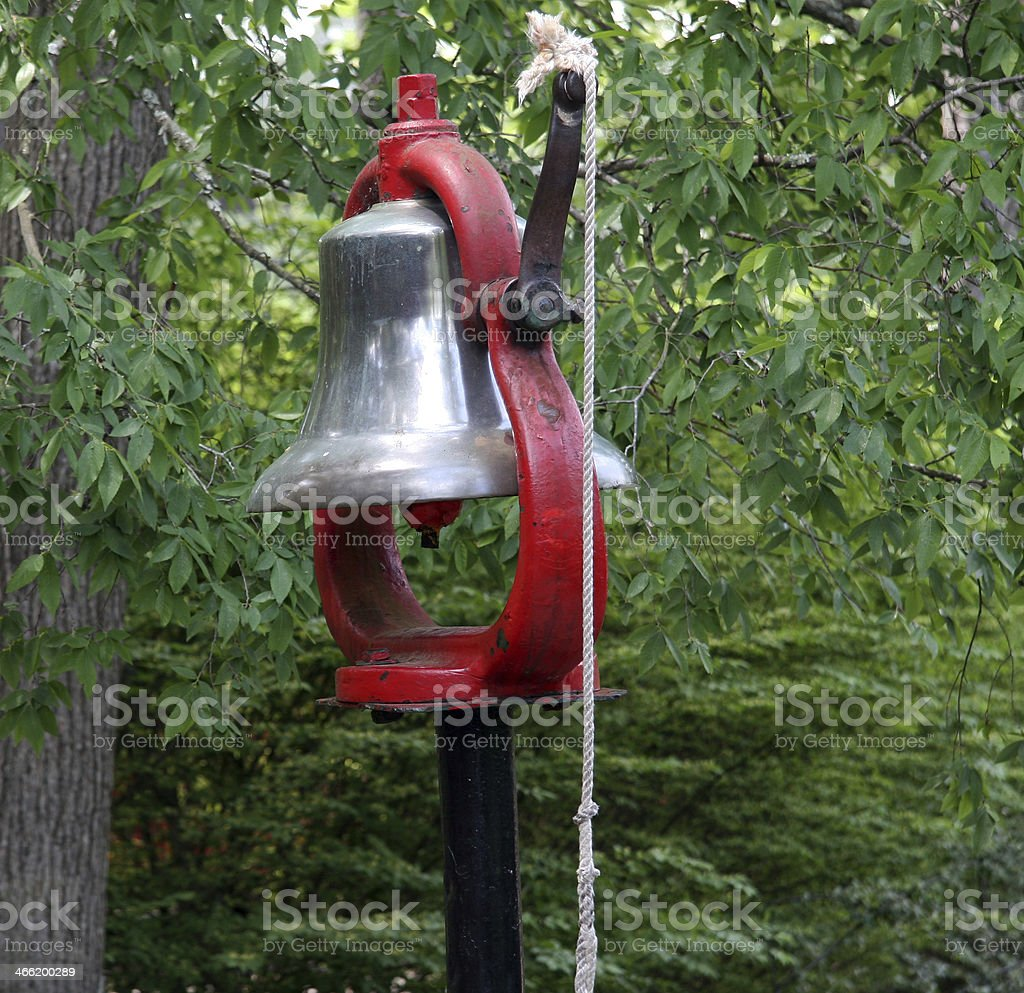 Train bell royalty-free stock photo