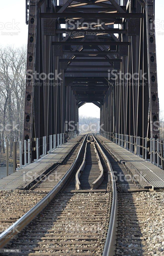 Train Bridge stock photo