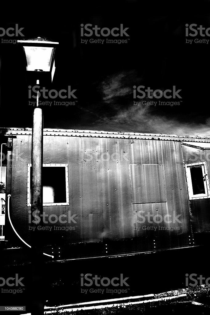 Train car royalty-free stock photo
