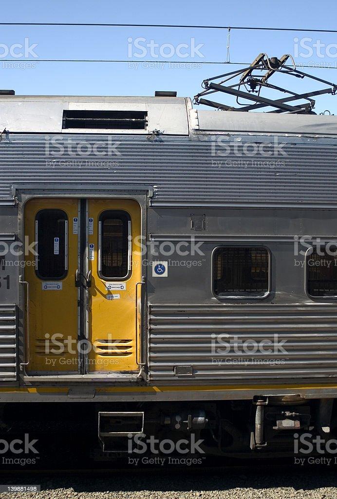 Train Door royalty-free stock photo