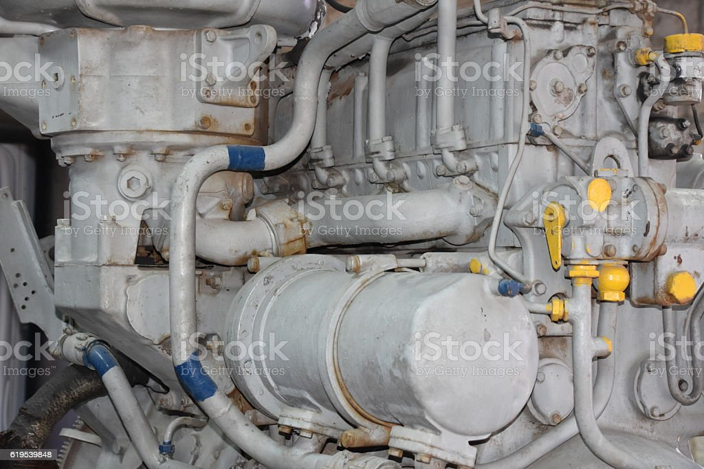 Train Engine stock photo