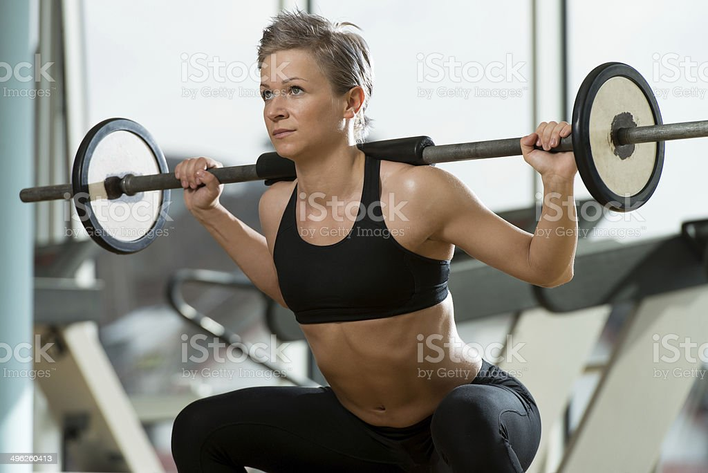 Train Hard Feel Good stock photo