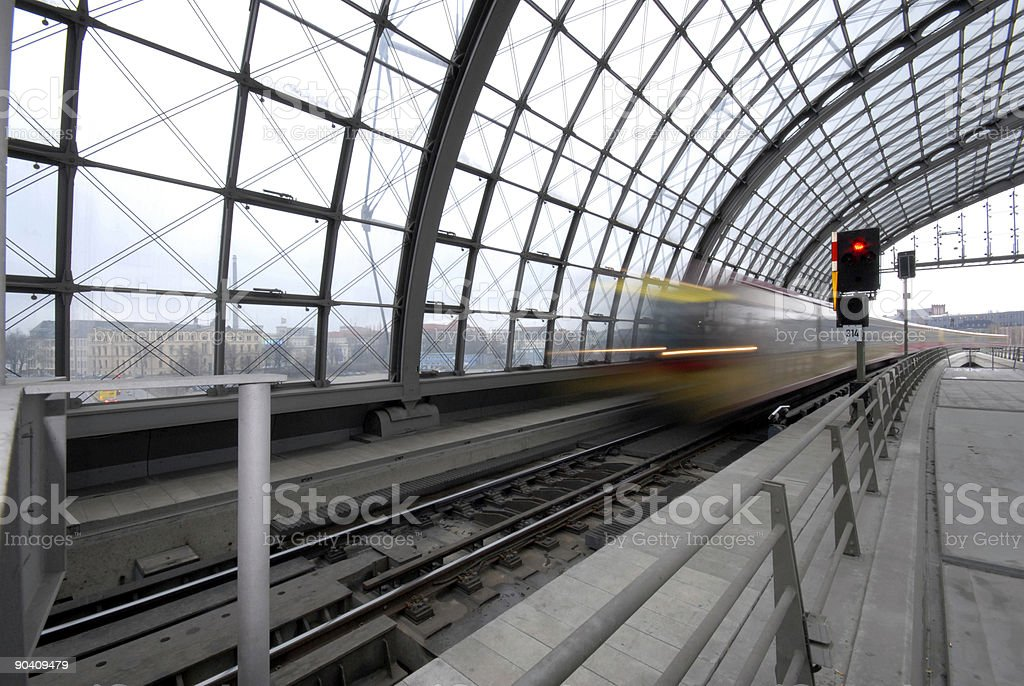 Train is Comming royalty-free stock photo