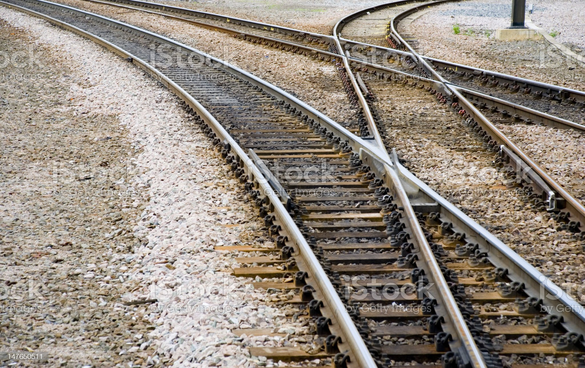 Train lines royalty-free stock photo