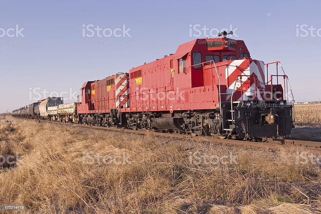 Train locomotive royalty-free stock photo