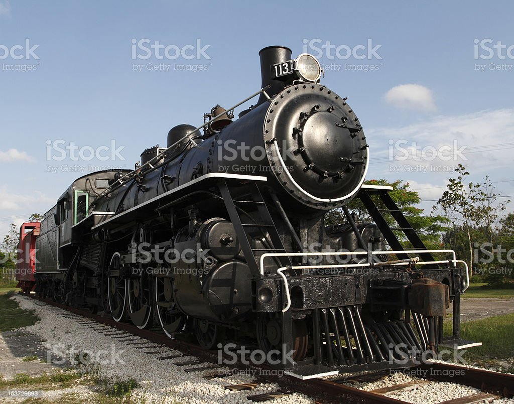 Train Number 113 stock photo