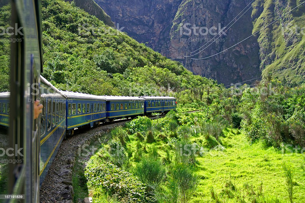 Train royalty-free stock photo