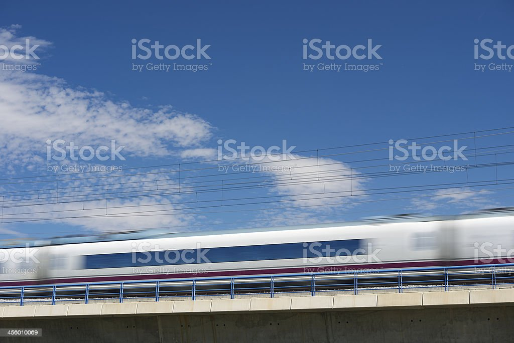 AVE train stock photo