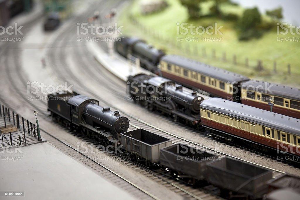 Train set stock photo