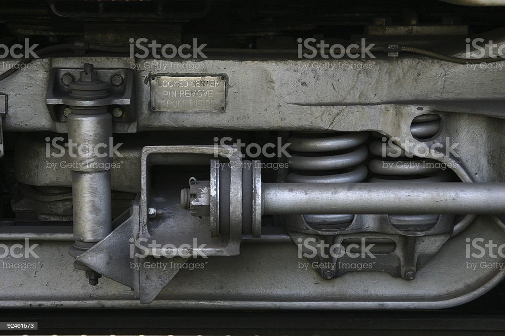 Train Springs royalty-free stock photo