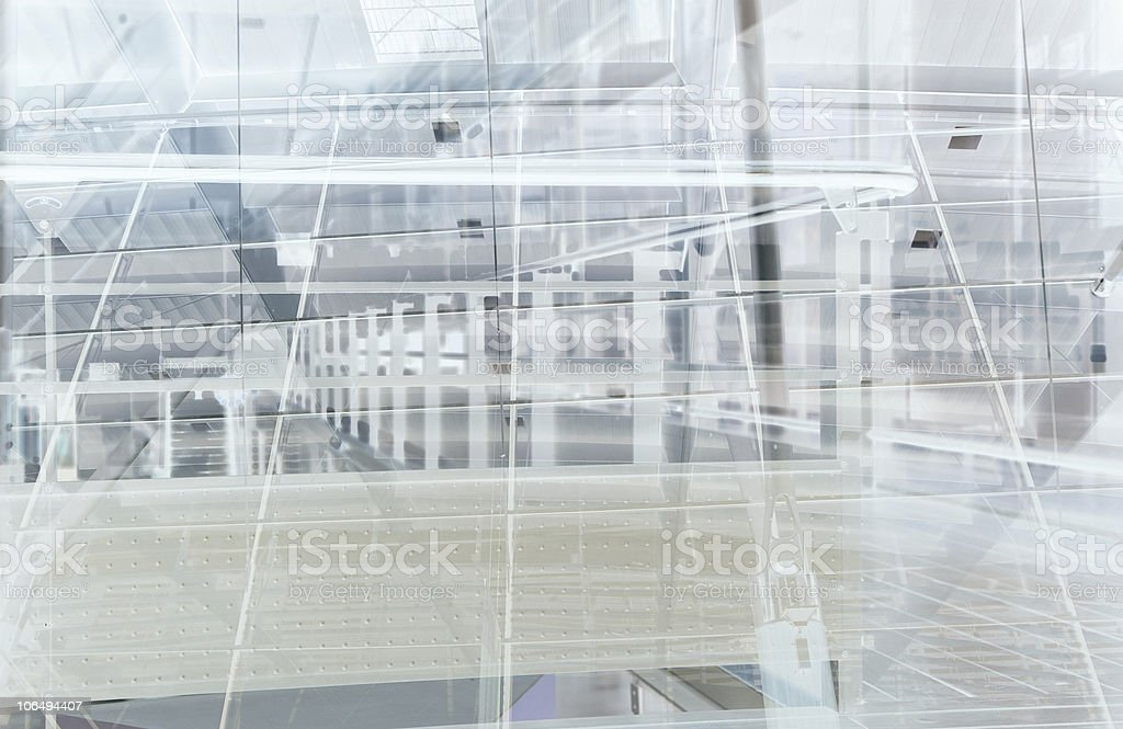 Train station abstract royalty-free stock photo