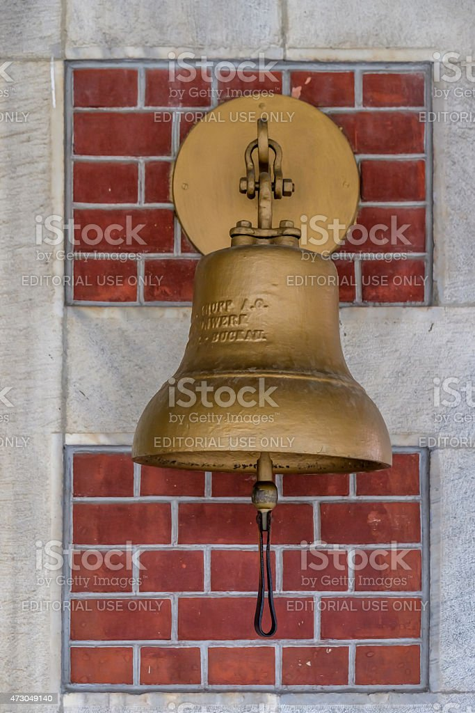 Train Station Bell stock photo