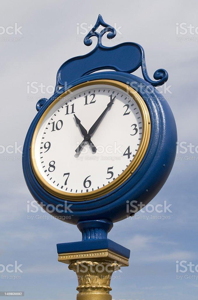 Horloge de Station de train photo libre de droits