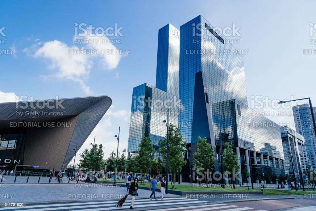 Train Station of Rotterdam stock photo