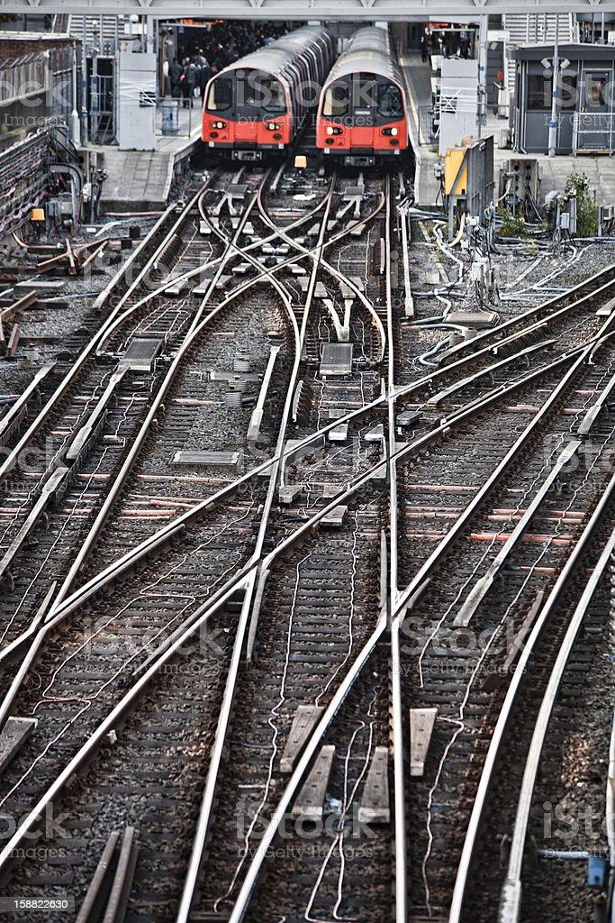 Train station. stock photo