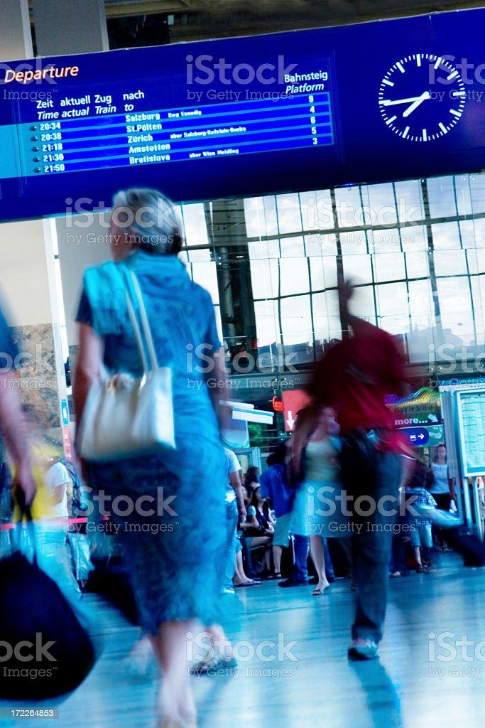 Train station royalty-free stock photo