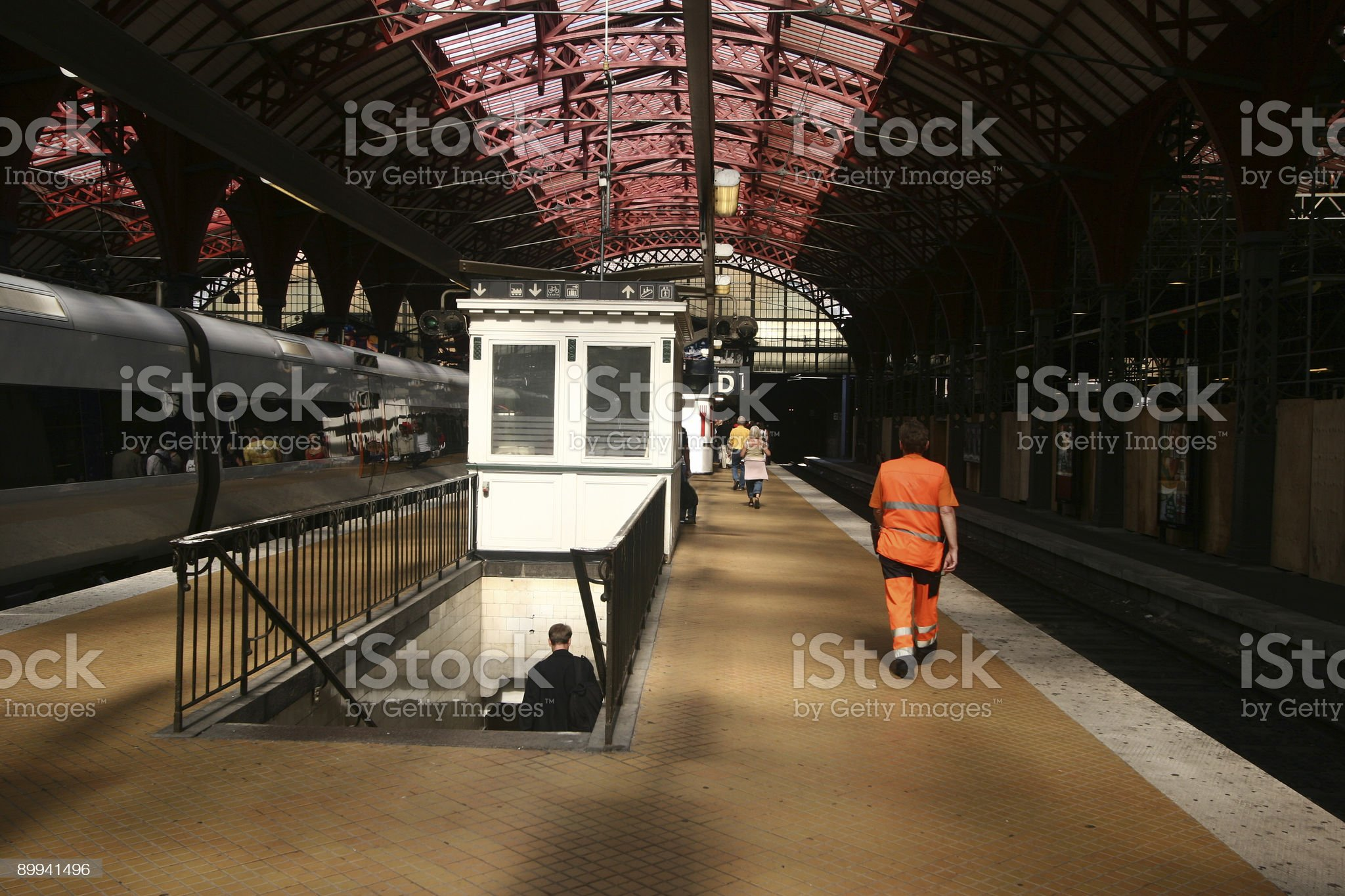 train station2 royalty-free stock photo