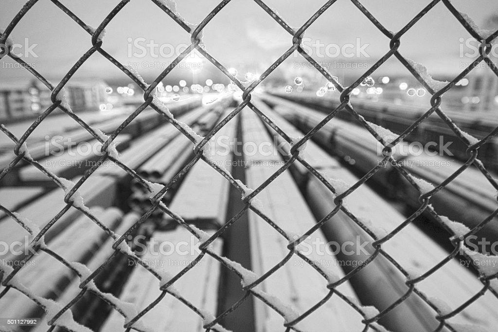 Train Traffic stock photo
