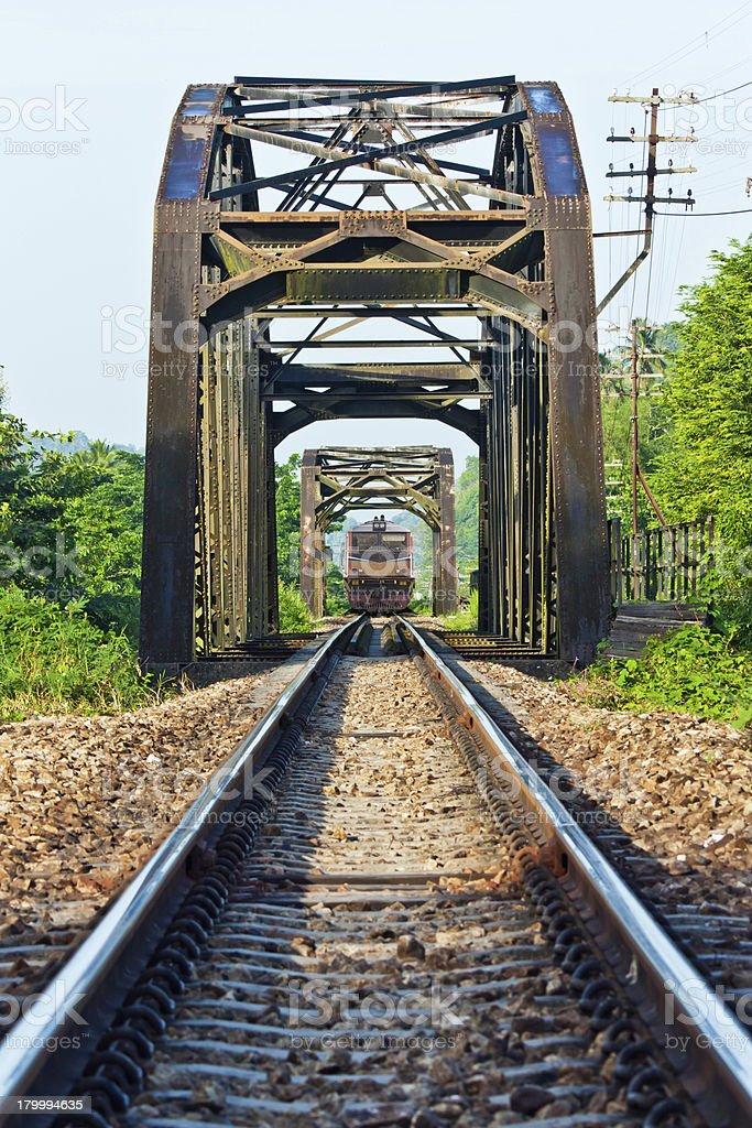 Train transportation royalty-free stock photo