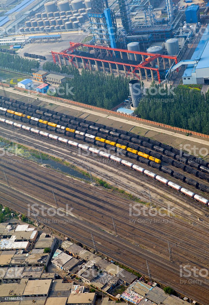 Train wagons royalty-free stock photo
