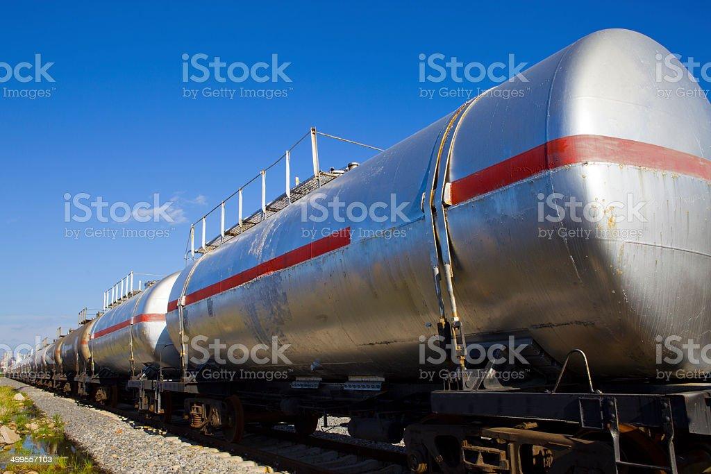 Train wagons stock photo