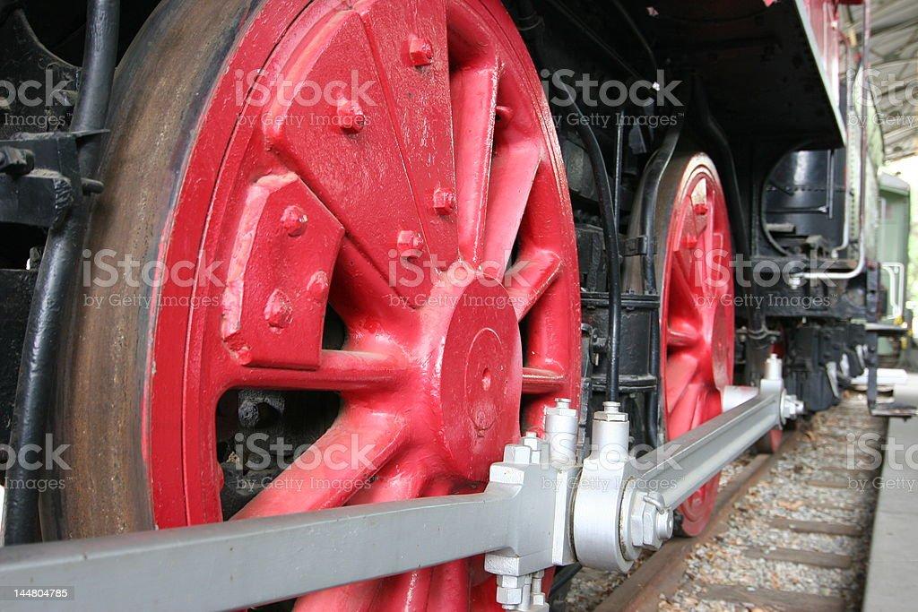 Train Wheels stock photo