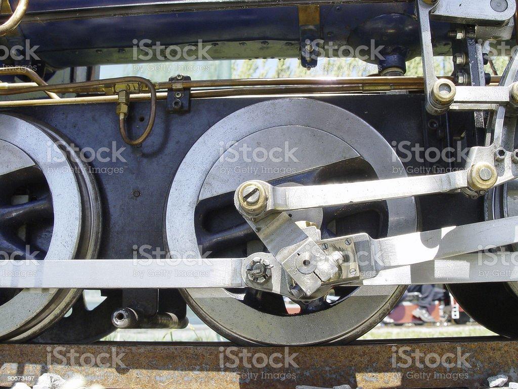 Train Wheels1 royalty-free stock photo