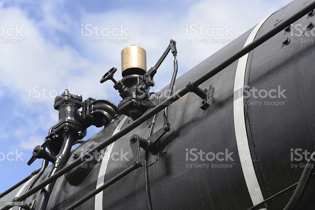 Train Whistle stock photo