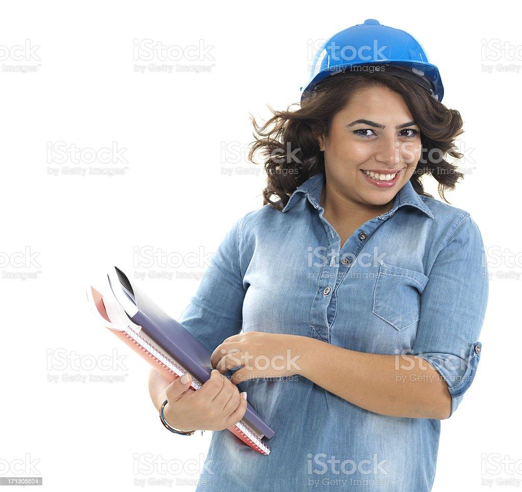 Trainee Engineer Student stock photo