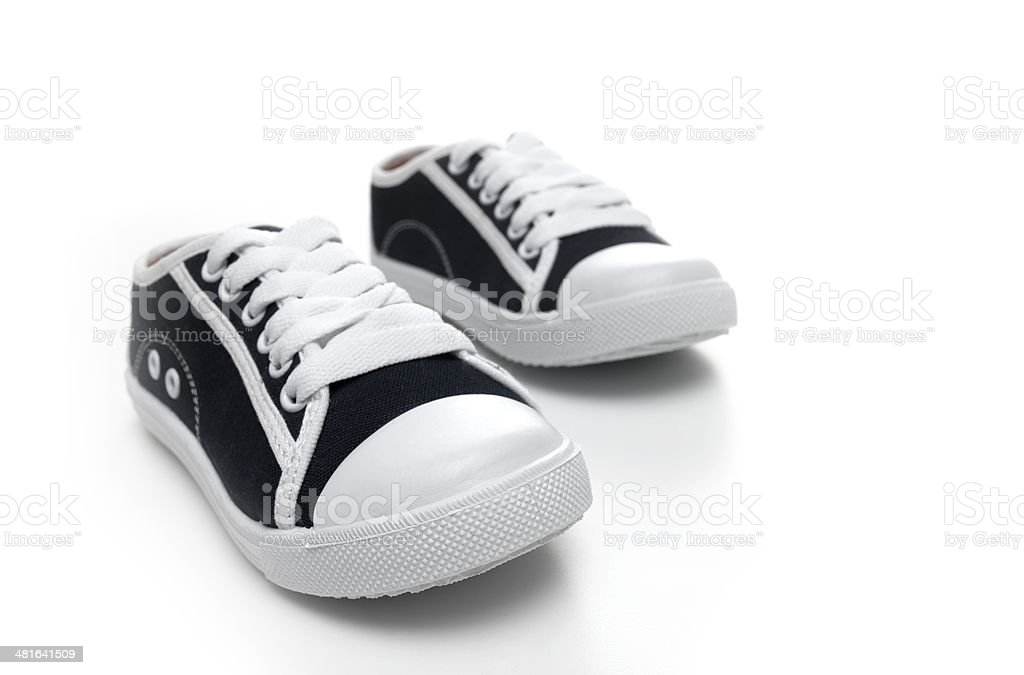 Trainers on white royalty-free stock photo