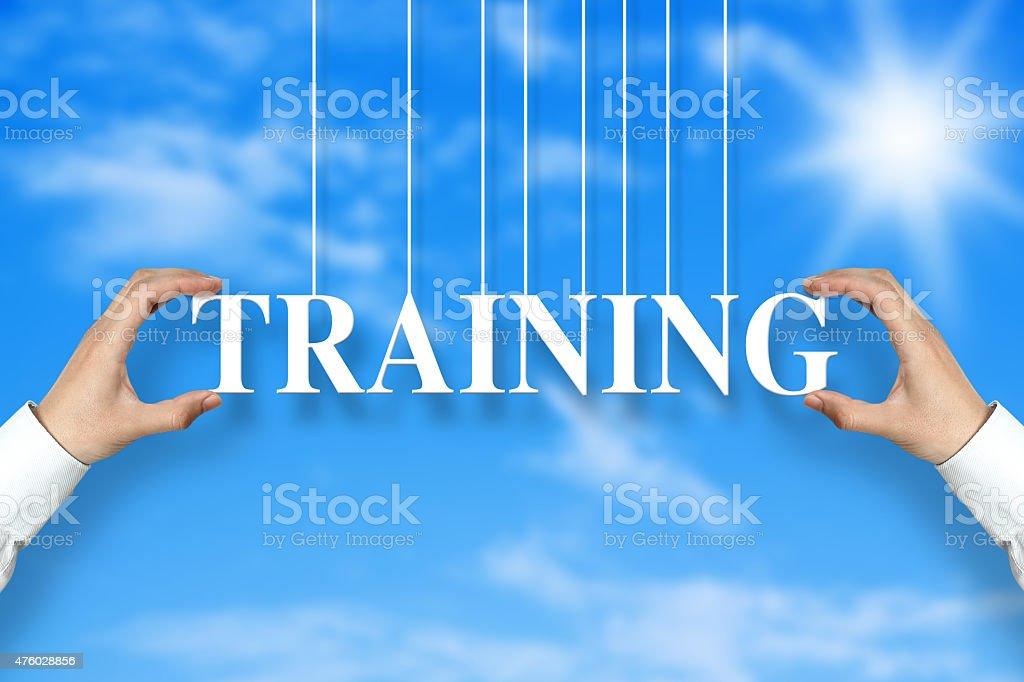 Training concept stock photo