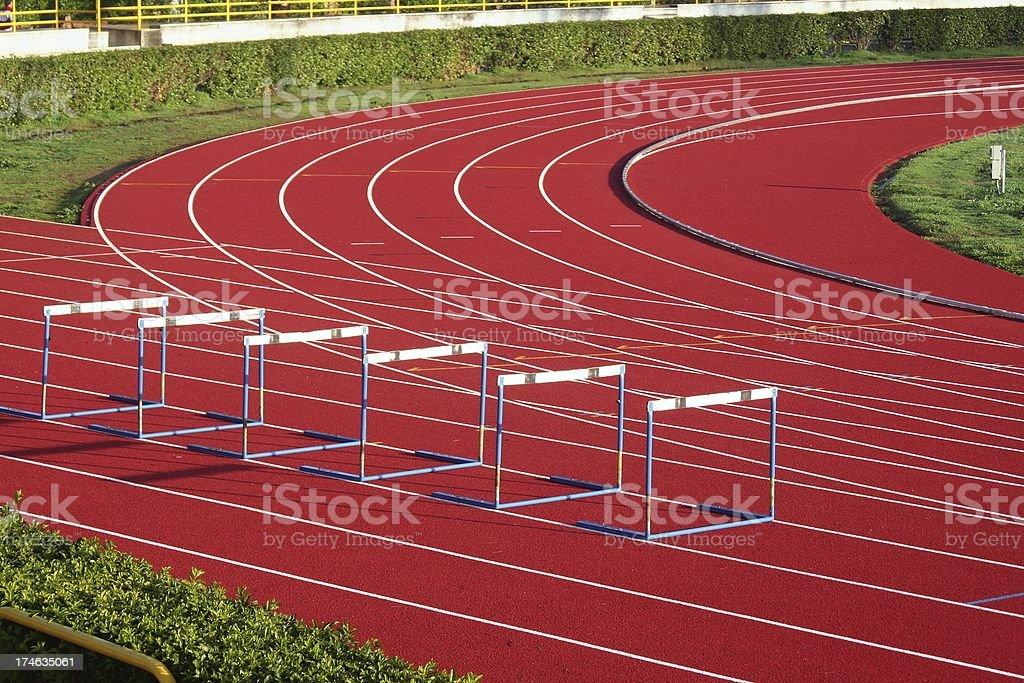 Training field stock photo