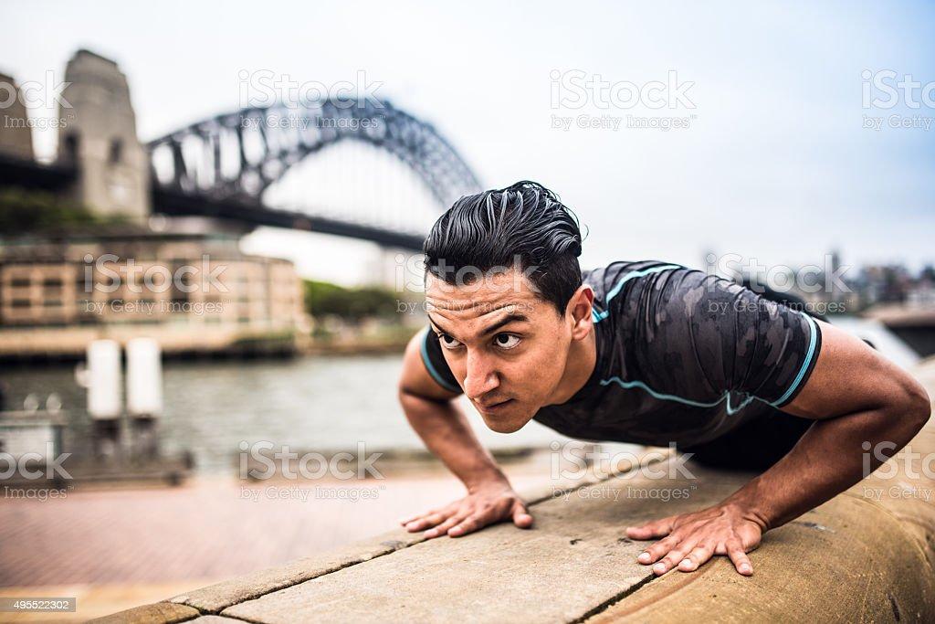 Training in Sydney stock photo