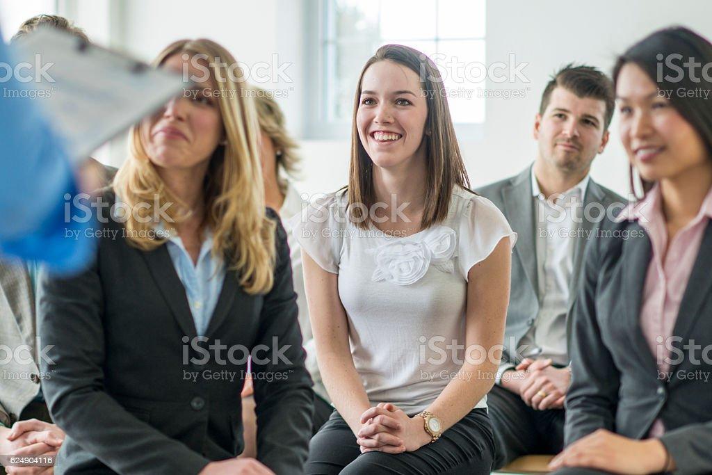 Training New Employees stock photo