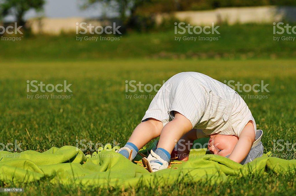 Training outdoor stock photo