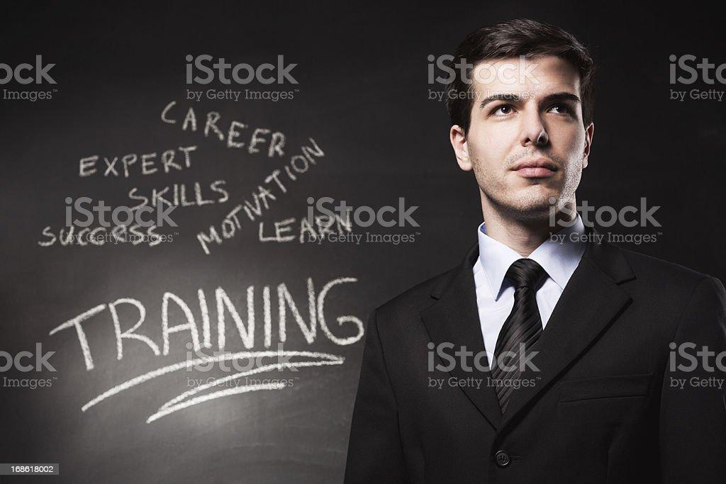 Training royalty-free stock photo