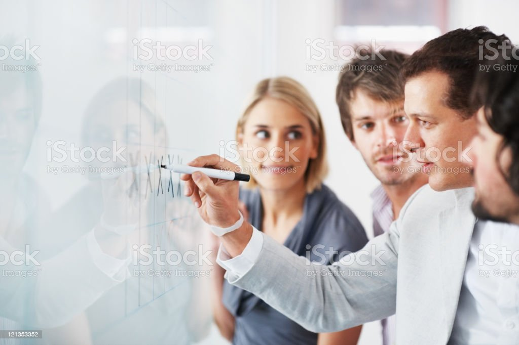 Training session royalty-free stock photo