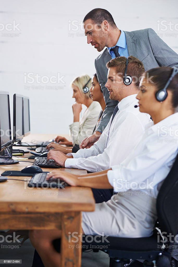 Training them to be effective stock photo