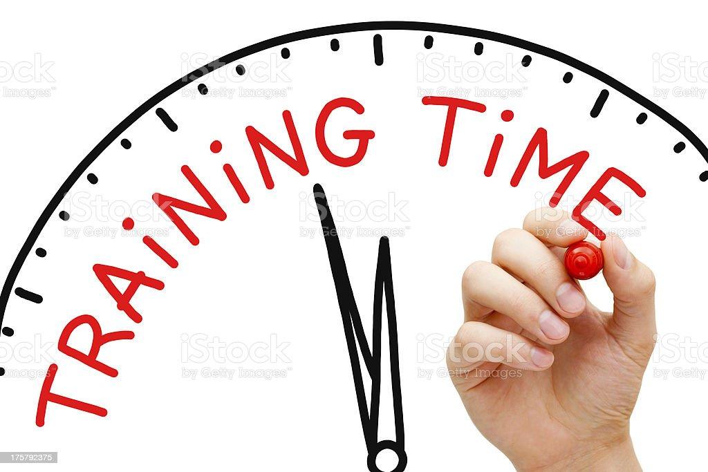 Training Time royalty-free stock photo