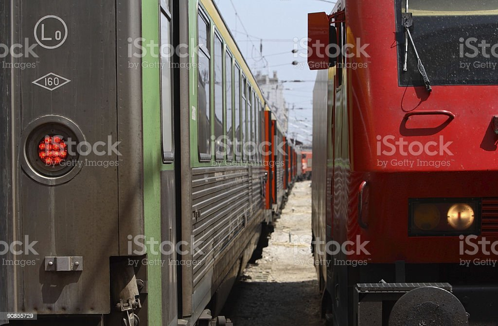 Trains royalty-free stock photo