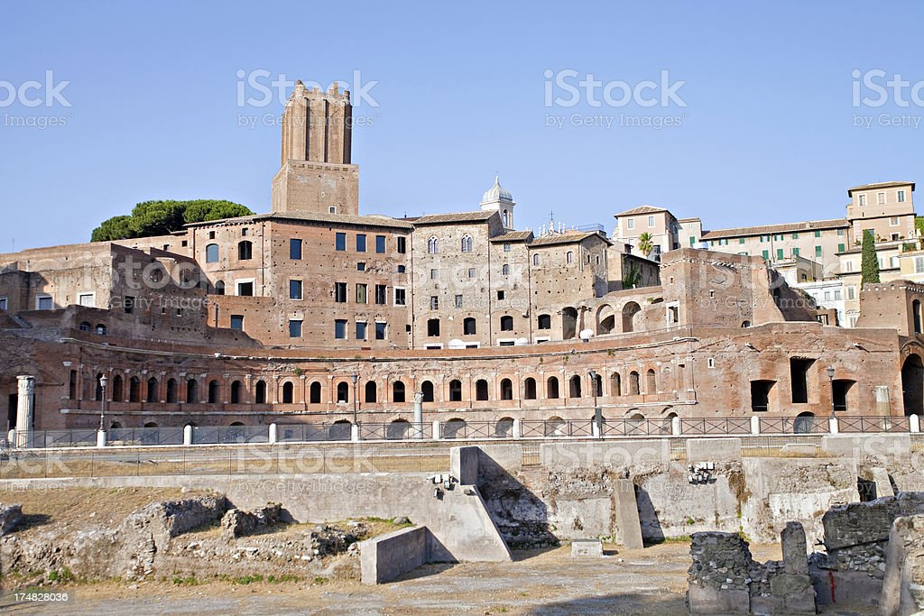 Trajan Market royalty-free stock photo