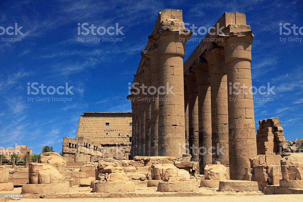 Trajan's Kiosk at Temple of Philae, Egypt stock photo