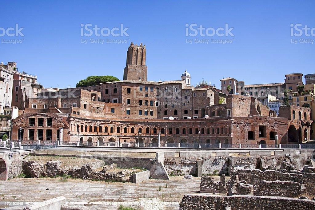 Trajan's Market royalty-free stock photo