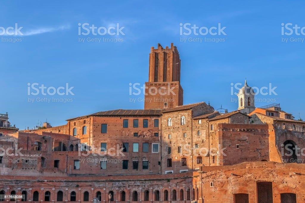 Trajan's Market (Mercati di Traiano), Rome, Italy stock photo