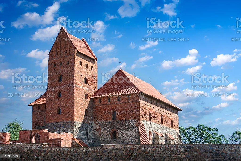 Trakai Castle 3 stock photo