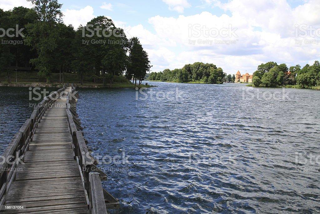 Trakai Castle royalty-free stock photo