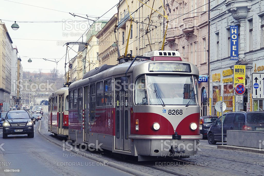Tram royalty-free stock photo