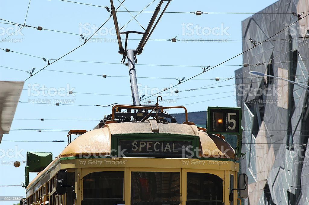 Tram #5 royalty-free stock photo