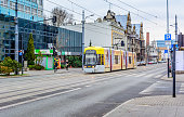 Tram service in Lodz